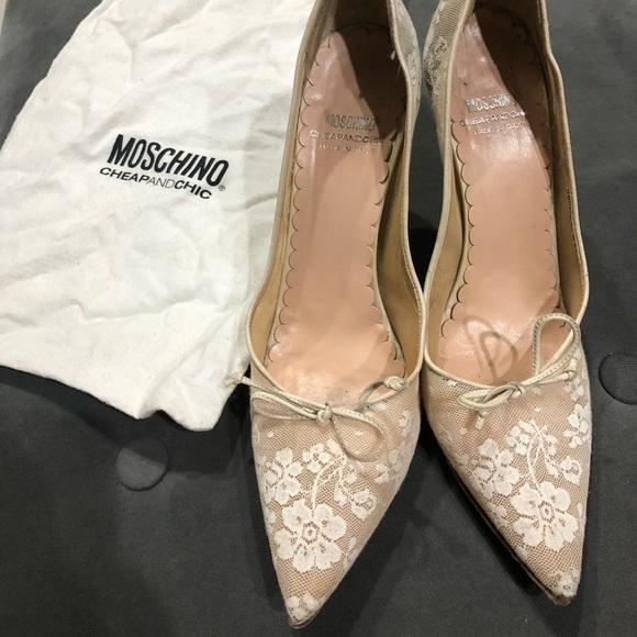 9d6cfabdfdffa Moschino Shoes | Vintage Womens Sz85 | Poshmark
